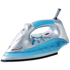 Brentwood Nonstick Steam And Dry Spray Iron Silver Finish Cleaning Clothing Heat #BRENTWOOD
