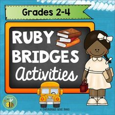 With this packet, your students will learn about the life of Ruby Bridges with engaging activities. | by Satsumas and Bees