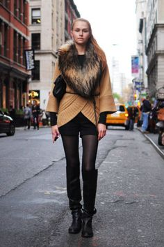 Best 2011 Winter Street Style - Discover More Fashion Trends - ELLE