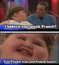 Speaks French