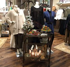 A Winter 2015 collection display at the Grand Opening of our Bridgewater Commons Soft Surroundings store in Bridgewater, NJ.