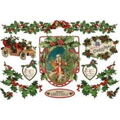 CARTA DI RISO NATALIZIA MERRY CHRISTMAS