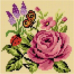This Pin was discovered by ΜΑΡ Butterfly Cross Stitch, Cross Stitch Bird, Beaded Cross Stitch, Cross Stitch Borders, Simple Cross Stitch, Modern Cross Stitch Patterns, Cross Stitch Flowers, Cross Stitch Designs, Cross Stitching