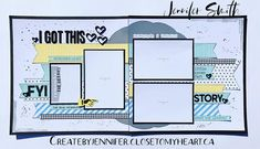 Embroidery close to my heart scrapbooking … School Scrapbook Layouts, Scrapbook Generation, Scrapbook Layout Sketches, Scrapbook Templates, Scrapbooking Layouts, Card Sketches, Cruise Scrapbook, Baby Scrapbook, Scrapbook Pages