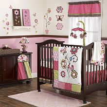 Maybe the baby bedding if little bitty is a girl!  CoCaLo Taffy 9-Piece Crib Bedding Set