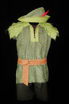 Adult Peter Pan Costume Custom Made by NeverbugCreations on Etsy, $600.00 #PeterPan #Disney #Cosplay