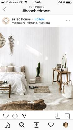 Schlafzimmer ♡ Wohnklamotte Bedroom boho Use of Fountains and Statuary in English Monastic Gardens A Bedroom Design Inspiration, Modern Bedroom Design, Modern Room, Bedroom Designs, Small Space Interior Design, Interior Design Living Room, Interior Decorating, Decorating Bedrooms, Boho Bedroom Decor