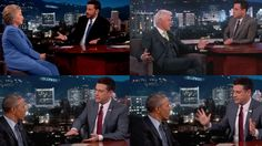 Hillary & Bill Clinton and Barack Obama Talking about UFOs and Aliens with Jimmy Kimmel - FindingUFO
