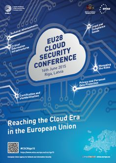 Cloud Security Conference: Reaching the Cloud Era in the European Union Security Conference, Data Protection, Cloud Computing, Organising, Ministry, Clouds, Events, Education, Europe