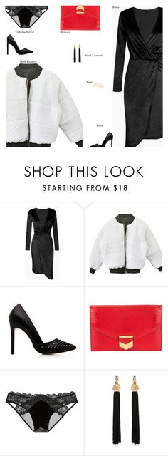 """YOINS"" by s-thinks ❤ liked on Polyvore featuring Hermès, Victoria's Secret and Yves Saint Laurent"