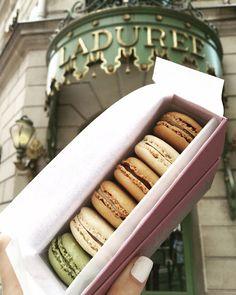 Macarons. Laduree Paris, France