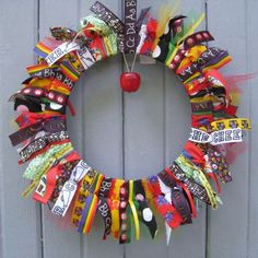 Back to School Wreath, School Teacher Wreath, Classroom Decoration, Teacher Gift, Teacher Door Hanger Christmas Door Decorations, School Decorations, School Themes, Teacher Wreaths, School Wreaths, Teacher Door Hangers, Teacher Doors, School Teacher, School Fun