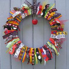 Back to School Wreath, School Teacher Wreath, Classroom Decoration, Teacher Gift, Teacher Door Hanger, Childs Room Decor
