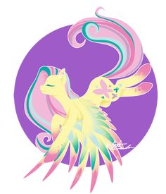 Rainbow Power - Fluttershy by FuyusFox.deviantart.com on @deviantART