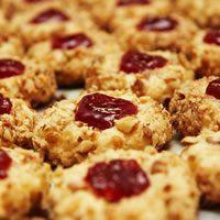 Holiday Thumbprint Cookies Recipe from Land O'Lakes | Recipes ...