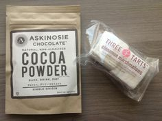 Birchbox Snow Day Limited Edition Box Review Askinosie Chocolate Single Origin Cocoa Powder - 40 g Value $3.25  Three Tarts Gourmet Cinnamon Marshmallows - Value $1
