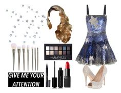 """""""Magicians Assistant"""" by marisa-heine ❤ liked on Polyvore featuring Valentino, Lauren Lorraine, NARS Cosmetics, Marc Jacobs, Maybelline and Stila"""