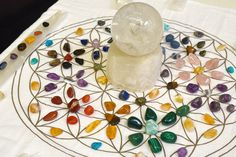 Crystal Grid, How to Make Your Own Crystal Grids