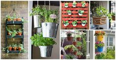 With some of these 16 original DIY hanging planters you can make easily at home you can certainly achieve a creative and beautiful garden look.