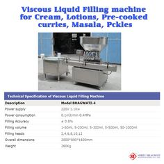 To get more details, visit at http://www.bhagwatipharma.com/viscous_liquid_filling_machine.html