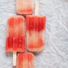 Watermelon-Mint Tequila Popsicles, refreshing and just a touch boozy.