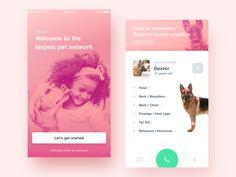 Petzey - iOS App by Majo Puterka