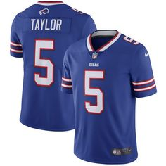 nfl jersey in london nike bills tyrod taylor royal blue team color mens stitched nfl vapor untouchable limited jersey