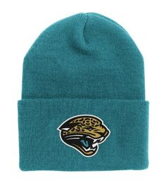 NFL End Zone Cuffed Knit Hat - K010Z, Jacksonville Jaguars, One Size Fits All Reebok. $5.00