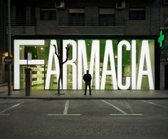 Modern Pharmacy by Clavel Arquitectos