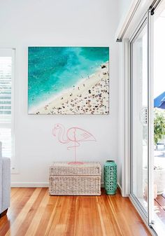 After making the move from Melbourne to Coffs Harbour, this family are living their dream in a new home with a fun coastal aesthetic. Take a look.