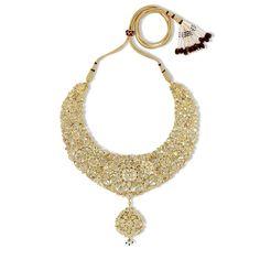 Polki Garden Bridal Set | Devam Jewelry
