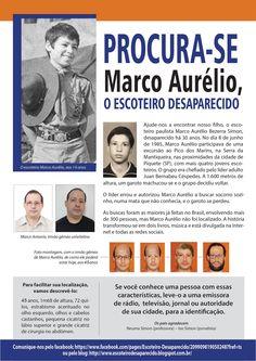 .: Marco Aurélio, o escoteiro desaparecido, há 30 anos procurado pela mãe