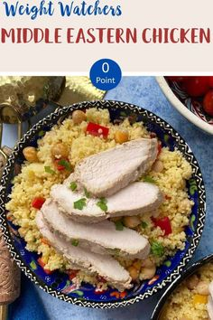 This tasty middle eastern inspired spiced chicken is zero SmartPoints for anyone following the Weight Watchers Blue or Purple plans. It is 3 SmartPoints per portion on the Green plan. A tasty and filling Weight Watchers lunch or dinner recipe. #wwlunchrecipe #weightwatcherssmartpoints #smartpoints #ww #wwblueplan wwpurpleplan #wwgreenplan #wwrecipes #wwchickenrecipes Weight Watchers Pasta, Weight Watchers Lunches, Weight Watcher Dinners, Weight Watchers Desserts, Friend Chicken Recipe, Chicken Recipes, Lunch Recipes, Dinner Recipes, Chicken Spices