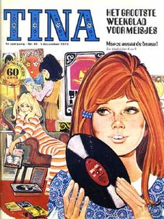 tina-het grootste weekblad voor meisjes - and of course I looked out for my weekly 'Tina' magazine