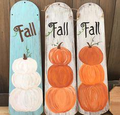 - For the Home - halloween dekorationen Fall Wood Crafts, Halloween Wood Crafts, Autumn Crafts, Thanksgiving Crafts, Thanksgiving Decorations, Holiday Crafts, Wooden Crafts, Halloween Stuff, Holiday Decor