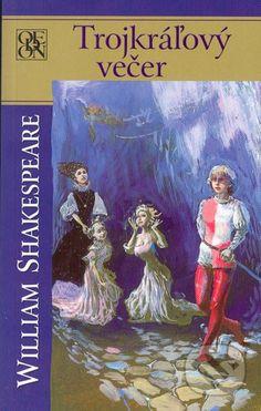 V slávnej Shakespearovej komédii Trojkráľový večer sa doslova klame telom – zamieňajú sa dvojčatá Viola a Sebastián, Viola je navyše preoblečená väčšinou za muža a volá sa Cesario – a to všetko len preto, aby na konci vyšla najavo pravda ... (Kniha dostupná na Martinus.sk so zľavou, bežná cena 5,90 €)
