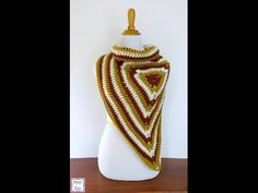 Episode 166: How To Crochet the Renaissance Button Wrap - YouTube