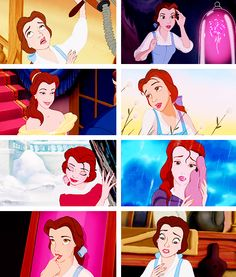"""Belle ↳""""What do you know about my dreams, Gaston?"""""""