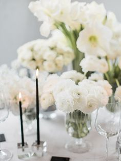 Simple Black and White Wedding Ideas