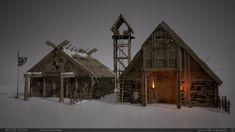 ArtStation - Viking Village, Brooke Olson