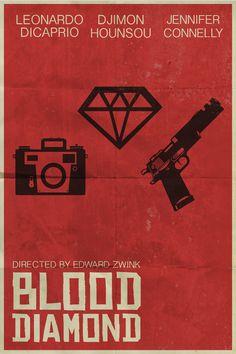 Blood Diamond Minimal Poster