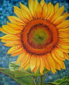Lustre Prints 8 x 10  Sunflower by MicheleGDodds on Etsy, $18.00