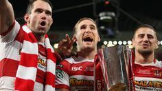 """Martin Offiah says beating Sydney Roosters in Australia on Saturday would be this Wigan team's """"greatest achievement"""". Manchester England, Rugby League, Champion, Football, Exercise, Warriors, Sports, Bbc, Cherry"""