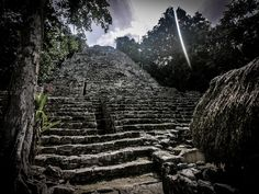 Most visitors to the amazing Mayan ruins at Coba in the Quintana Roo province of Mexico do so on a… Coba Ruins, Mayan Ruins, Quintana Roo, Travel Guides, Adventure Travel, Travel Inspiration, Travel Destinations, Travel Photography, Mexico