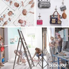 Take a look behind the scenes of bébé-jou during the photoshoot for the new 2015 collection.