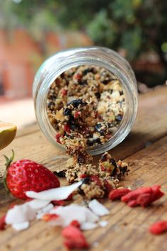 Raw Superfood Granola