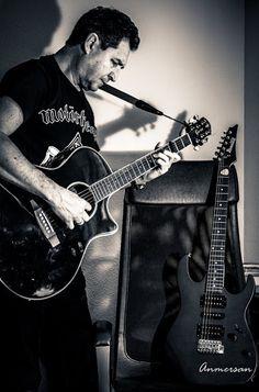 Proyecto 365 Anmersan: Foto 23-365 con la guitarra