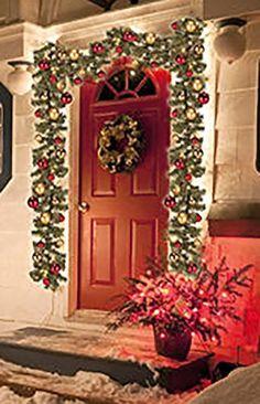 weihnachtsgirlande mit 35er mini lichterkette weihnachtsbeleuchtung 2 7 m xmas weihnachtsdeko. Black Bedroom Furniture Sets. Home Design Ideas