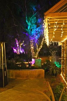 New Years Eve Party....outside lighting