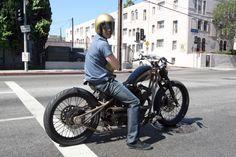 Brad Pitt - cool ass bike